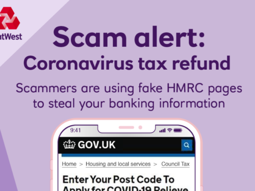 Natwest COVID-19 Scam Advice